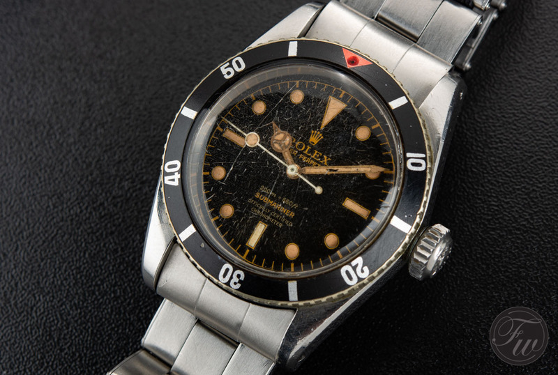 A Closer Look At A Submariner Big Crown Four Liner 6538
