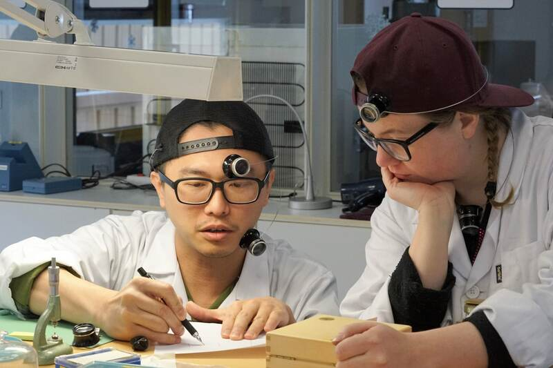 A Conversation Between A Watchmaking Student And His Instructor