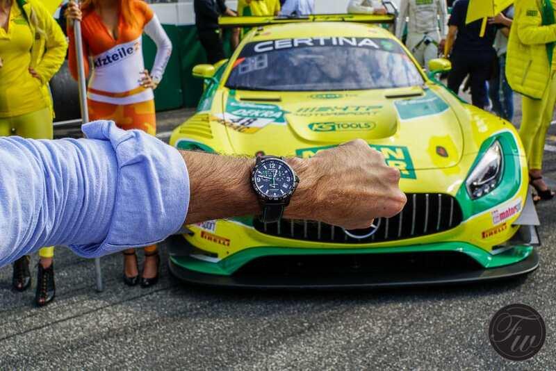 ADAC GT Masters in Hockenheim with Certina – A Photo Essay