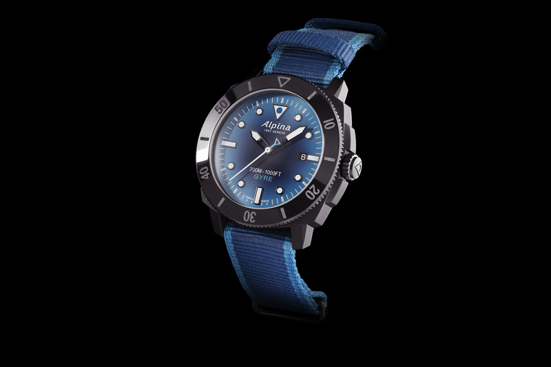 Alpina Seastrong Diver Gyre Automatic – Protecting the Oceans