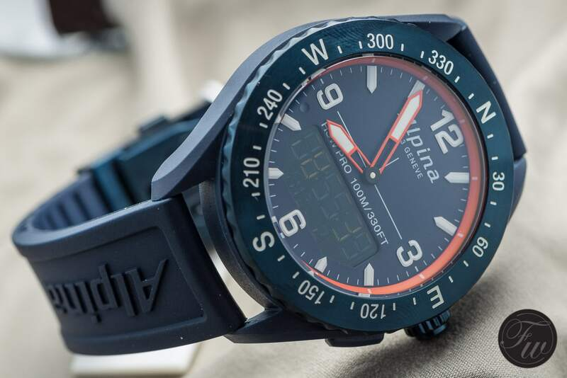 AlpinerX Outdoors Watch by Alpina from Basel World