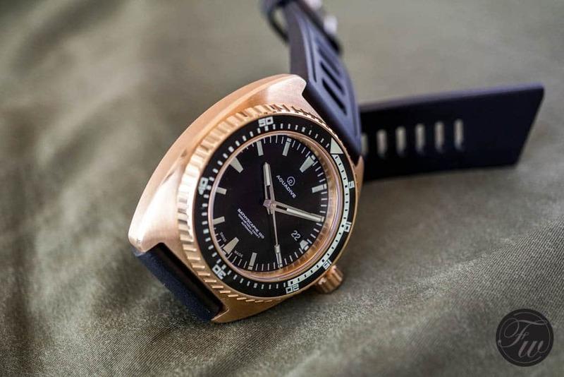 Aquadive Bathyscaphe 100 Bronze – A Hands On Review