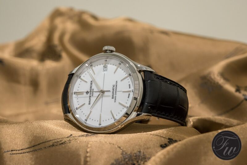 Baume & Mercier Goes In-House With Their Clifton Baumatic!