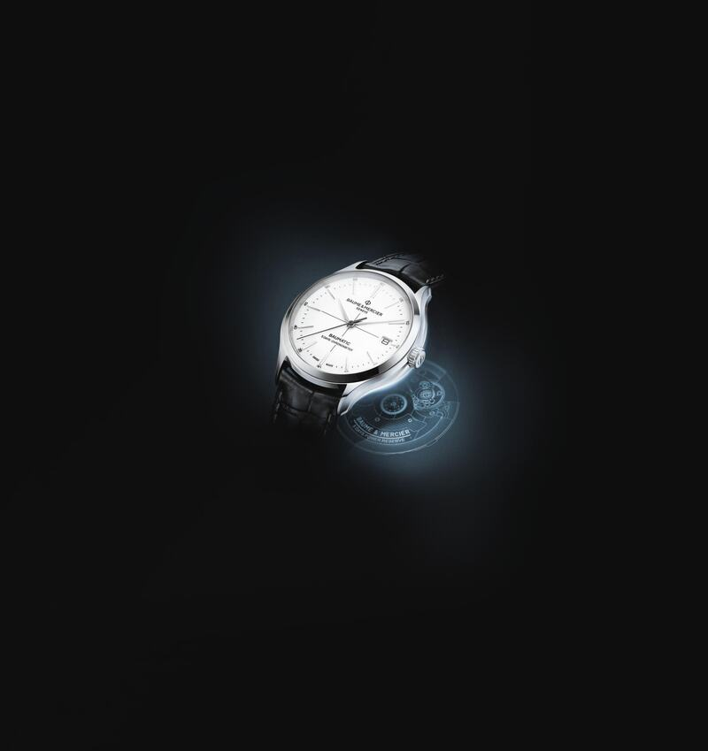 Baume & Mercier's new Clifton Baumatic: Enhanced accuracy and power reserve