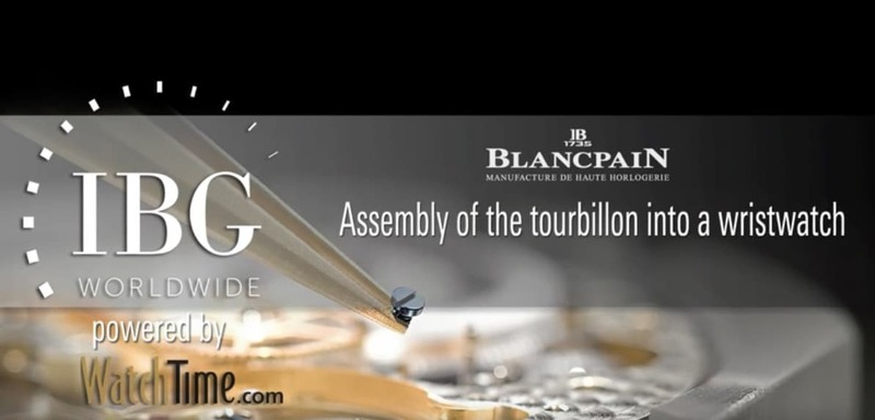 Blancpain – Assembly of the tourbillon into a watch
