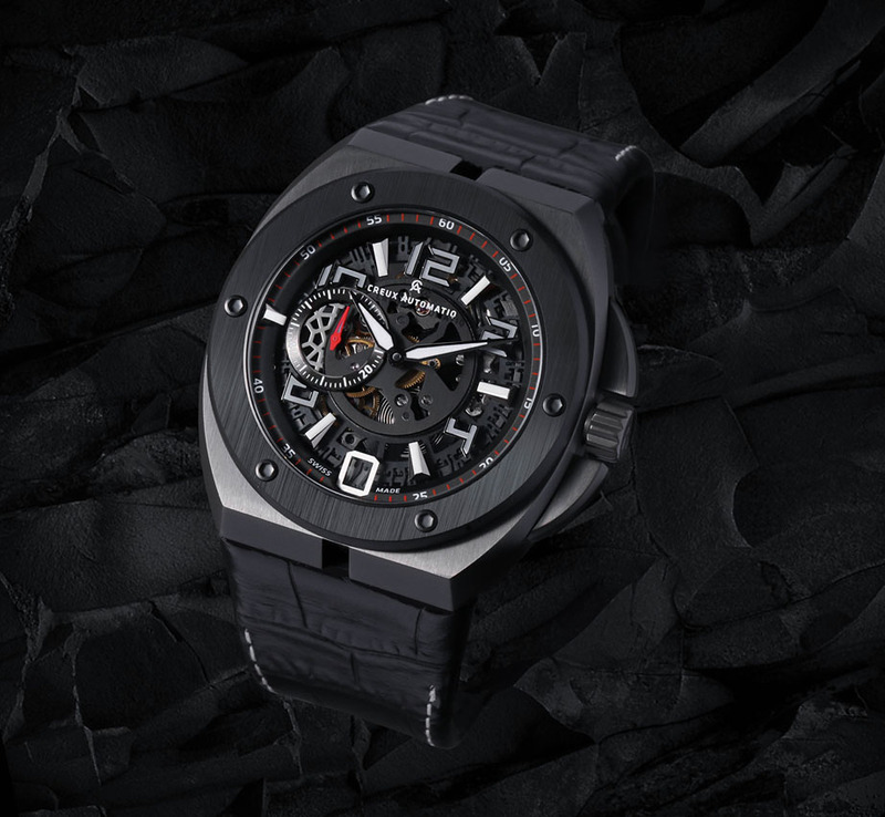CREUX AUTOMATIQ GHOST SHADOW: CHANGING THE FACE OF SPORTS LUXE