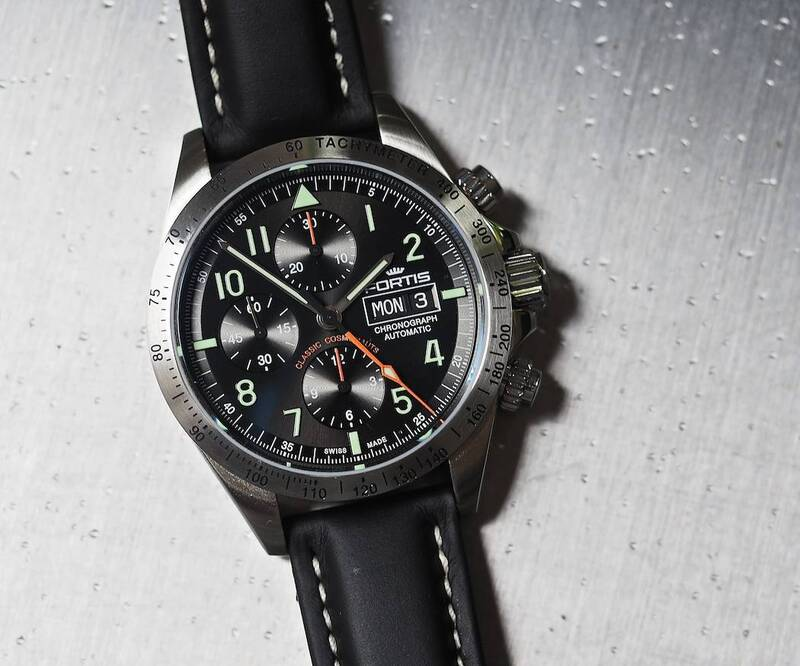 Fortis Classic Cosmonauts Chronograph – A Hands On Review