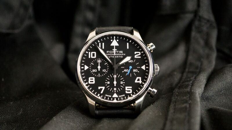 Fortis Pilot Classic Chronograph – Hands on Review