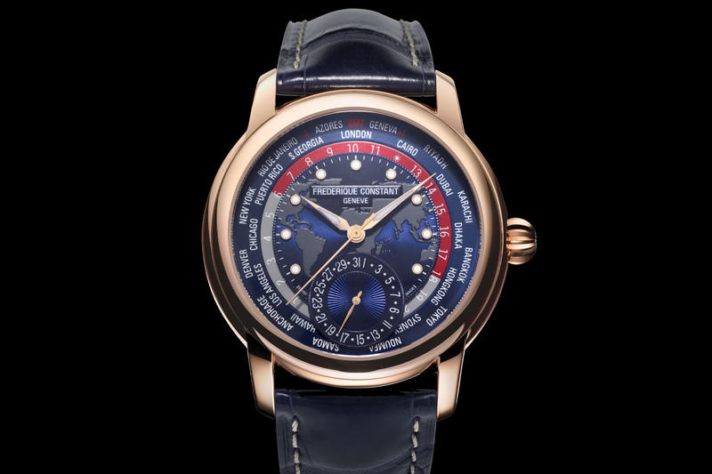 Frederique Constant Classic Worldtimer Manufacture Limited Edition