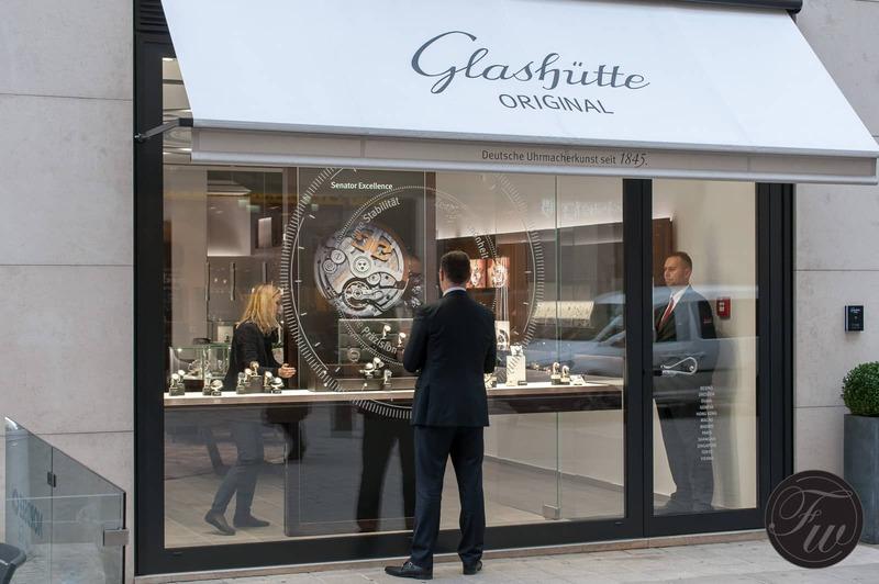 Glashütte Original, Vienna Boutique