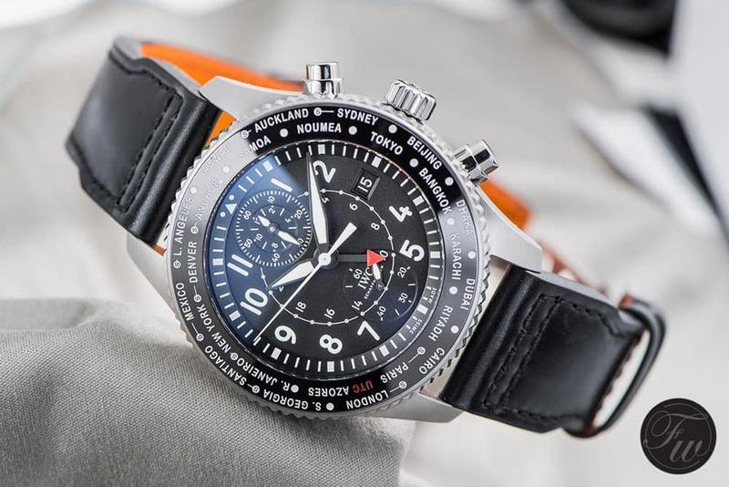Hands-On – IWC Pilot's Watch Timezoner Chronograph 3950