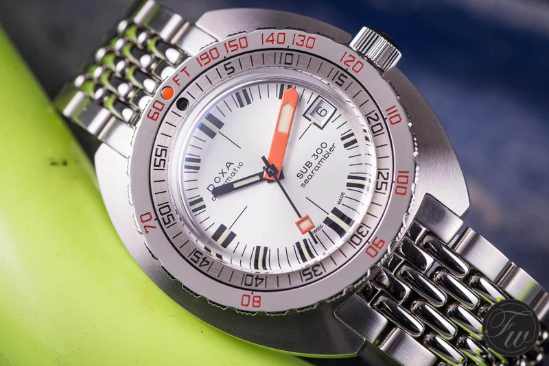 Hands-On: Doxa SUB 300 Searambler Review – 50th Anniversary Edition