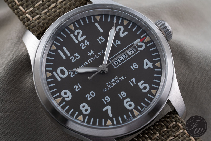 Hands-On Hamilton Khaki Field Day Date Review