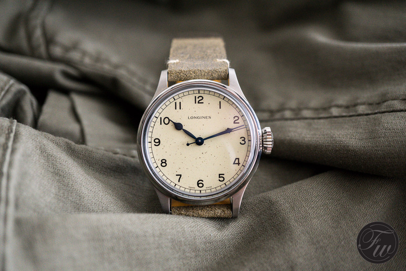 Hands-On Longines Heritage Military Review