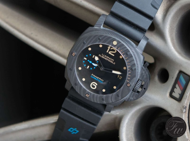 Hands-On Panerai Luminor Submersible 1950 Carbotech PAM 616 Review