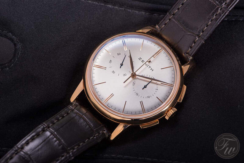 Hands-On Review of the Zenith Elite Chronograph Classic (El Primero) in Gold
