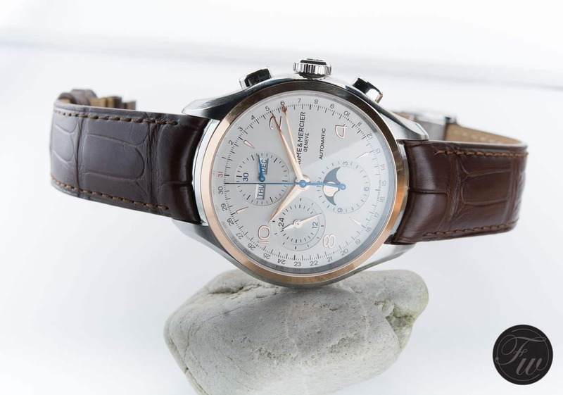 Hands-On With The Baume & Mercier Clifton Chronograph Complete Calendar (10280)