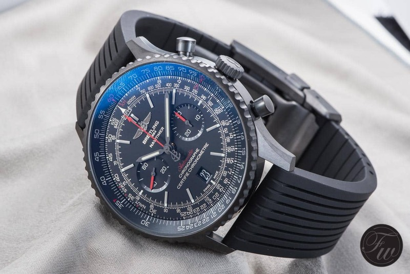 Hands-On With The Breitling Navitimer 01 Blacksteel
