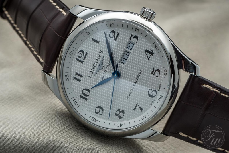 Hands-On With The Longines Master Collection Annual Calendar – And It Is Under 2000 Euro
