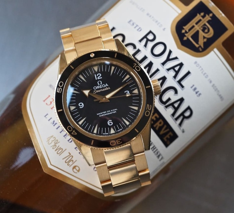 Hands-On With the Gold Omega Seamaster 300 – a Lustworthy Diver