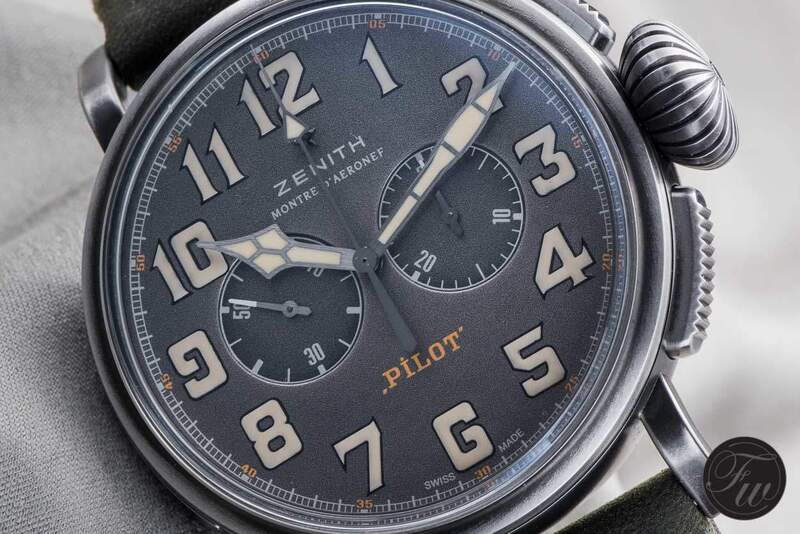 Hands-On Zenith Heritage Pilot Ton-up Review