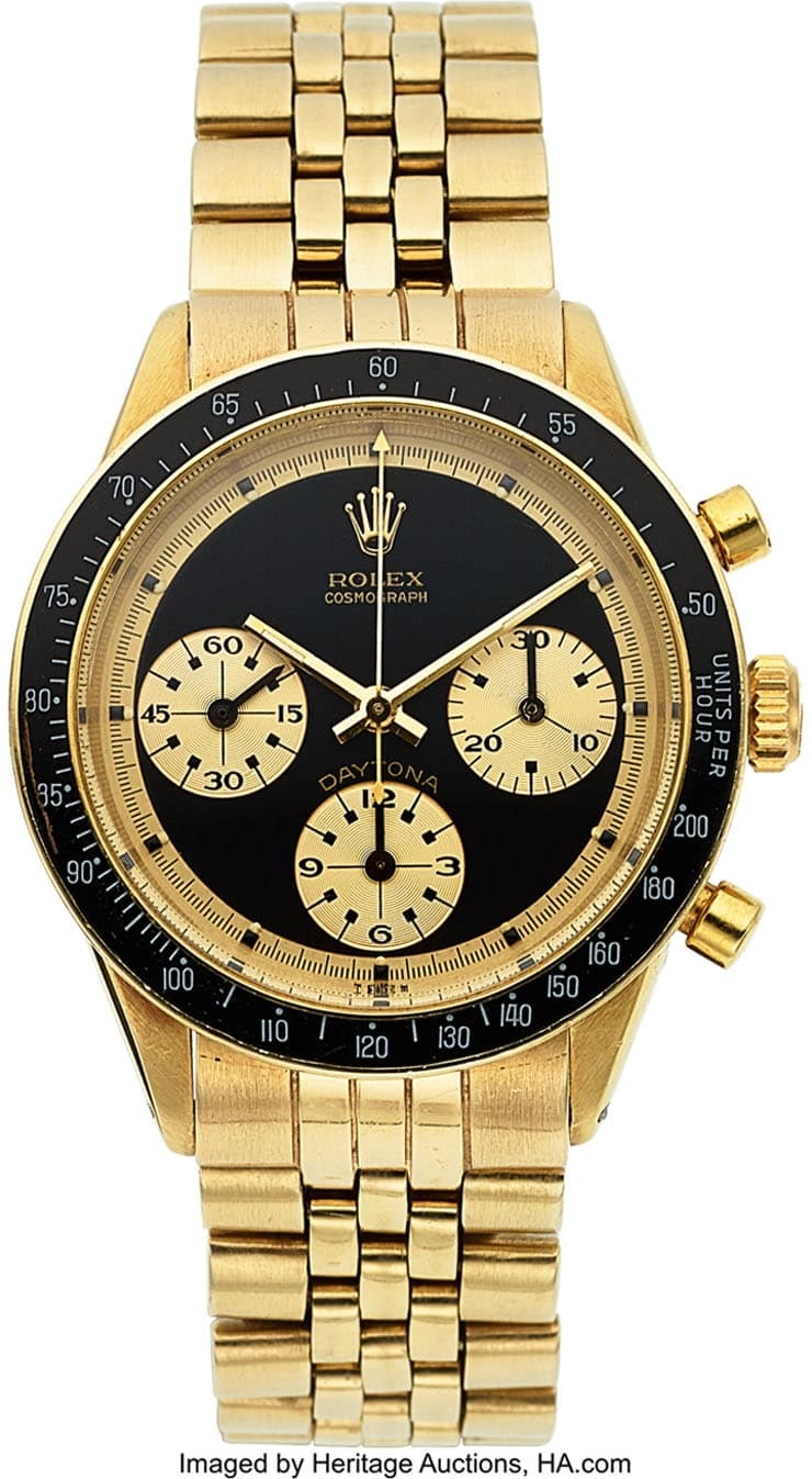 Heritage Auctions Watches & Fine Timepieces Auction Highlights