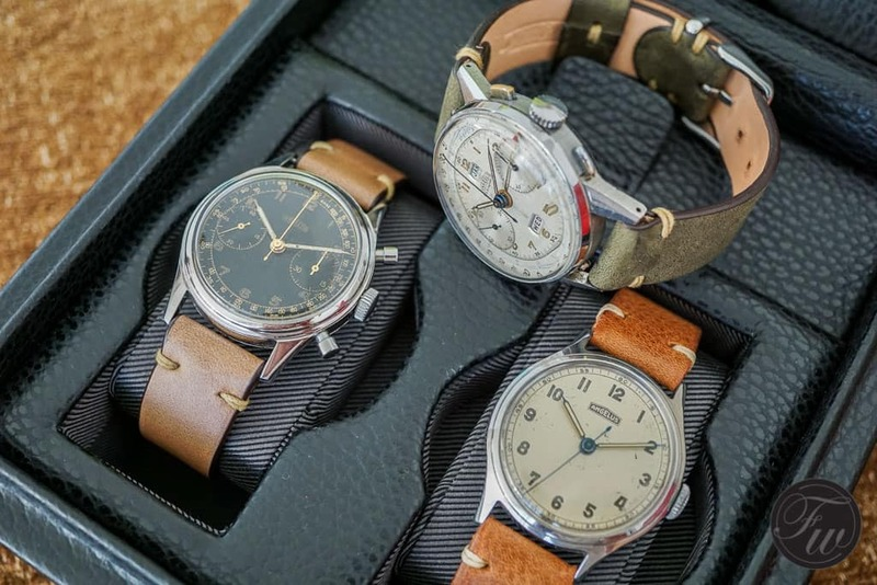 Holy Trinity of vintage Angelus watches