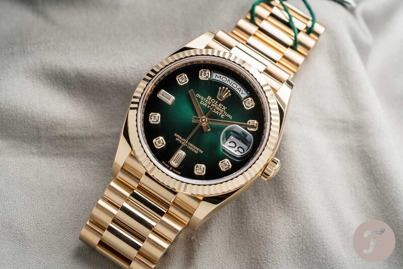 Hot Take: The New Rolex Day-Date 36 Variations