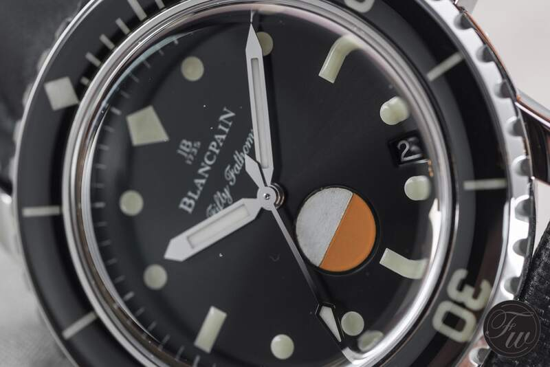In Detail – Blancpain Tribute to Fifty Fathoms MIL-SPEC