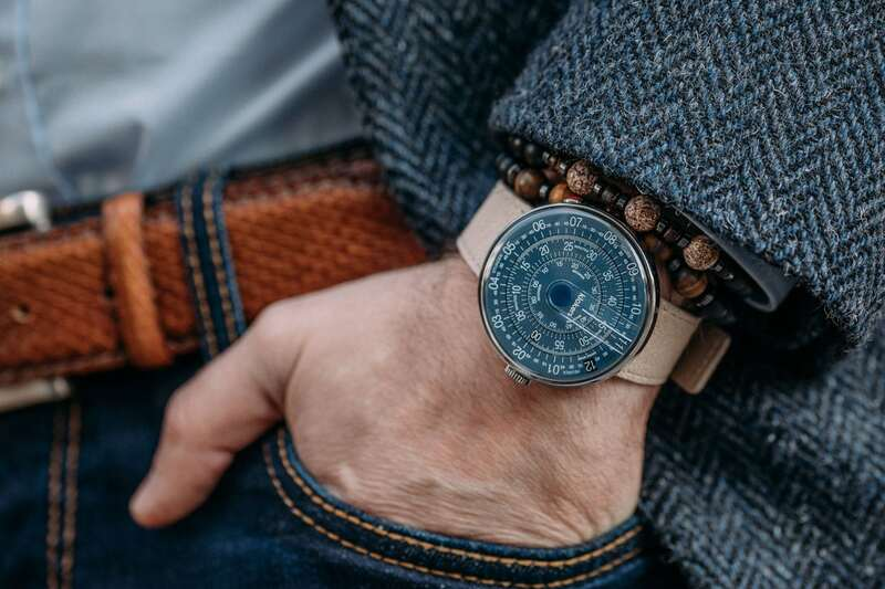 Introducing – KLOK-01 with Midnight Blue dial