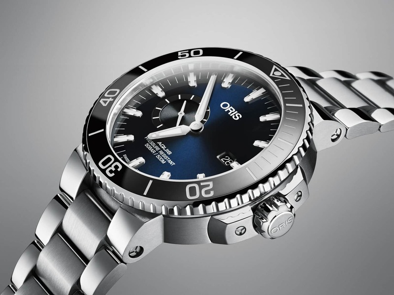 Introducing You To The Oris Aquis Small Second Date