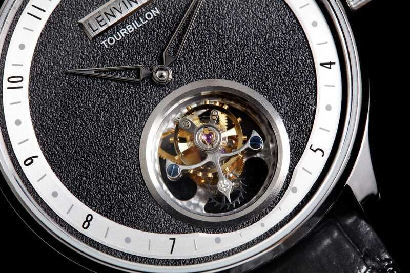 Kickstarter- US$499 Real Flying Tourbillon Modern Minimal Design Watches by LENVINO