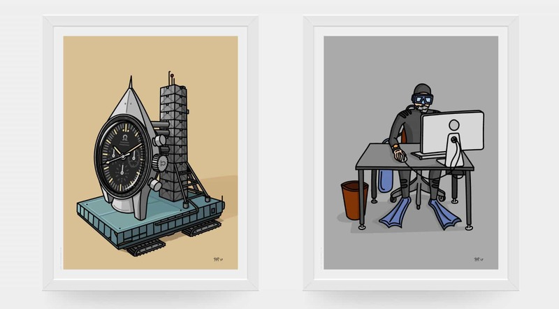 Launch of the Watches & Pencils Webshop – Order Your Watch Art Now