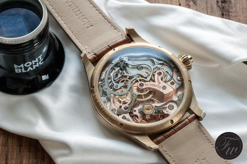 Montblanc 1858 Chronograph Tachymeter Champagne – Limited to 100 pieces