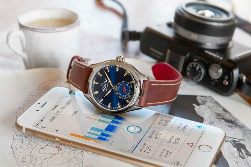 New Blue Alpina Horological Smartwatch