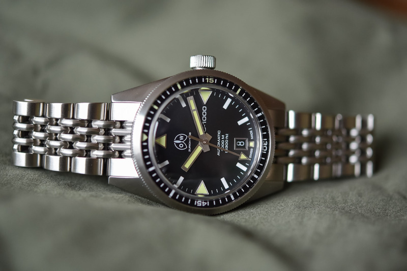 Ollech & Wajs OW C-1000 S, a Robust Dive Watch Inspired by the Past