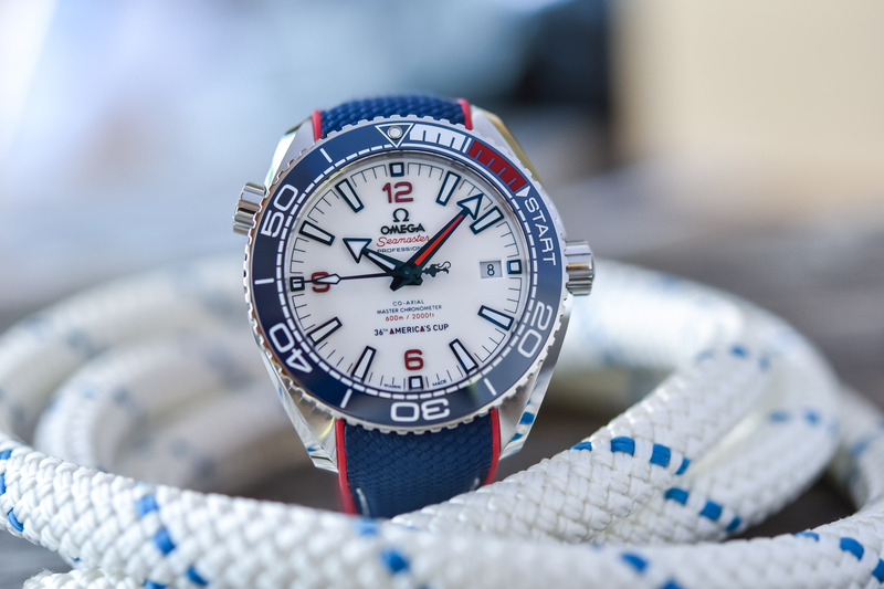 Omega Seamaster Planet Ocean 600m for the 36th America's Cup