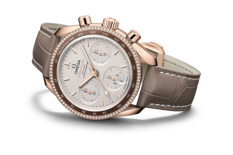 Omega Speedmaster 38mm Co-Axial Chronograph, now in Full Gold