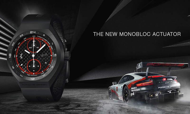 Porsche Design Inaugurates a New Era for Chronographs