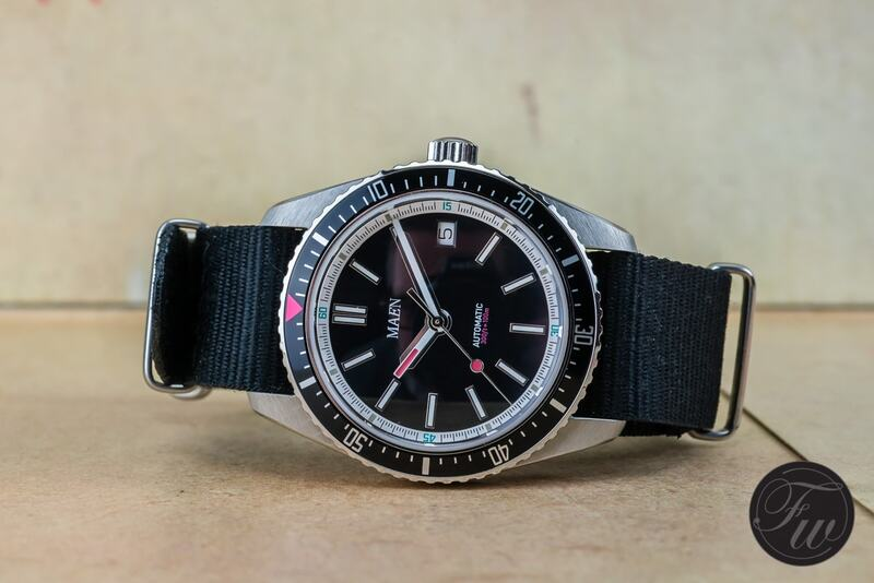Ready To Order Now: Maen Hudson 38mm Automatic