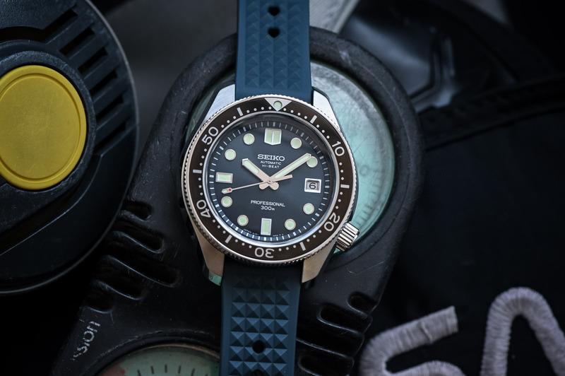 "Seiko Diver's 55th Anniversary, the 1968 ""Hi-Beat"" Re-Creation SLA039J1"