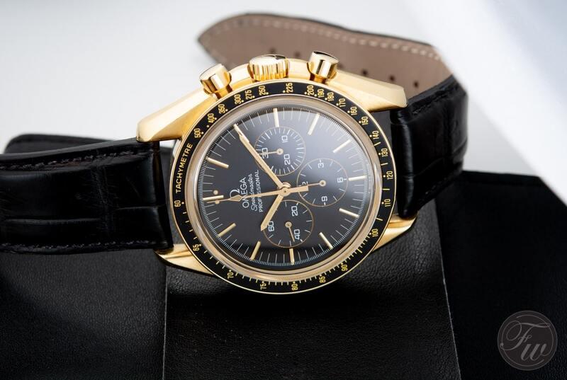 Speedy Tuesday – Gold Speedmaster Professional Moonwatch Jubilee 27 CHRO C12