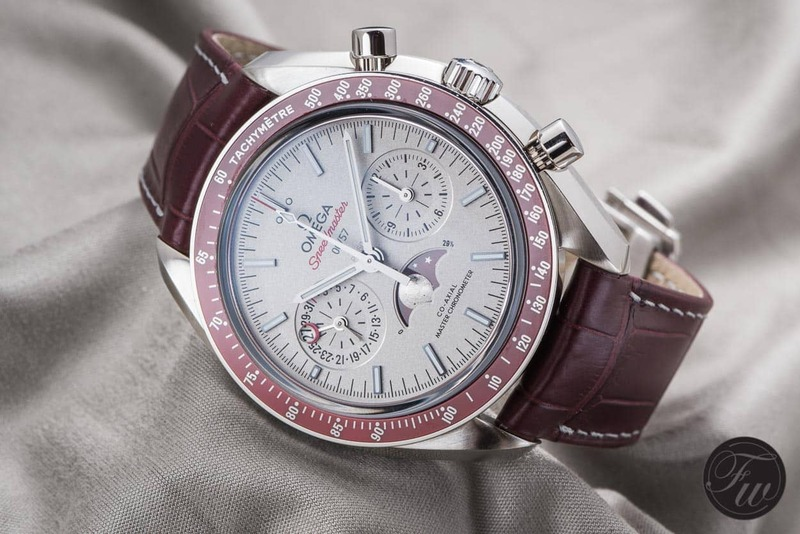 Speedy Tuesday – Hands-On With The Speedmaster Moonphase Co-Axial Master Chronometer in Platinum