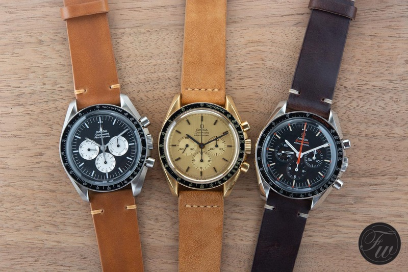 Speedy Tuesday – Strap Choices For Your Speedmaster By Paul Twice