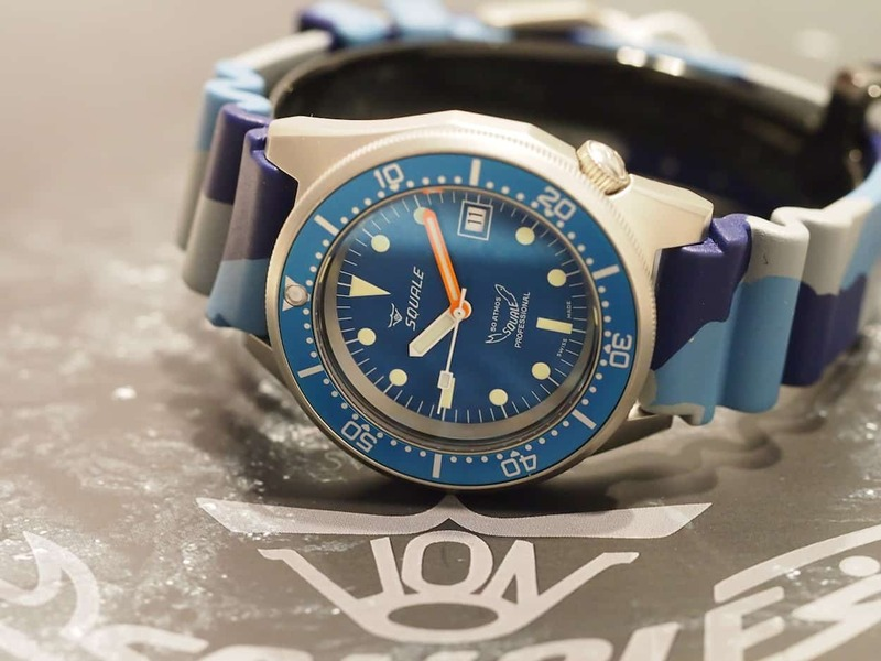 Squale at Baselworld 2015