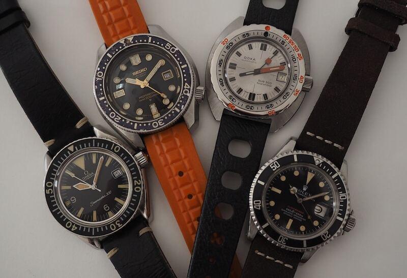 Summer Special: 60's Vintage Diver Shootout Part 1