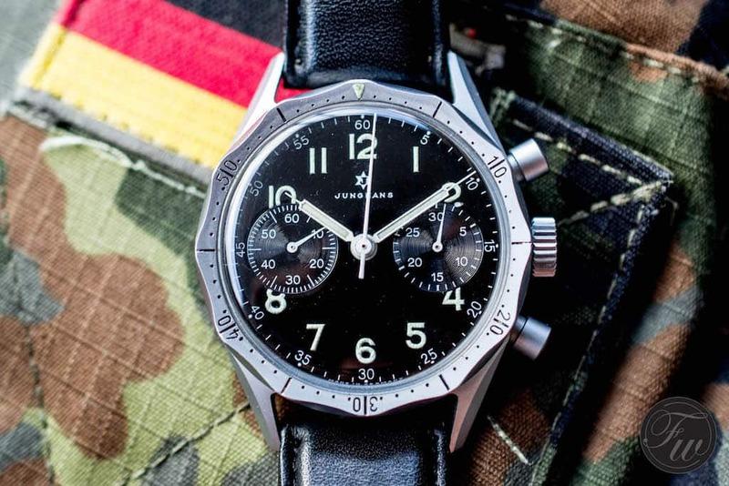 #TBT – Junghans Bundeswehr Chronograph