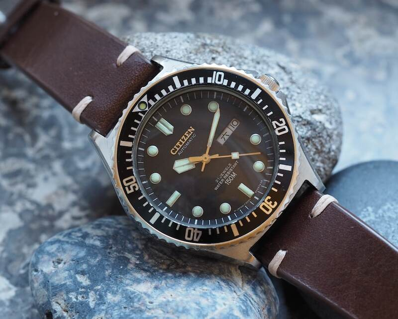 #TBT The Citizen 51-2273 Diver and a Welcome to the Brand