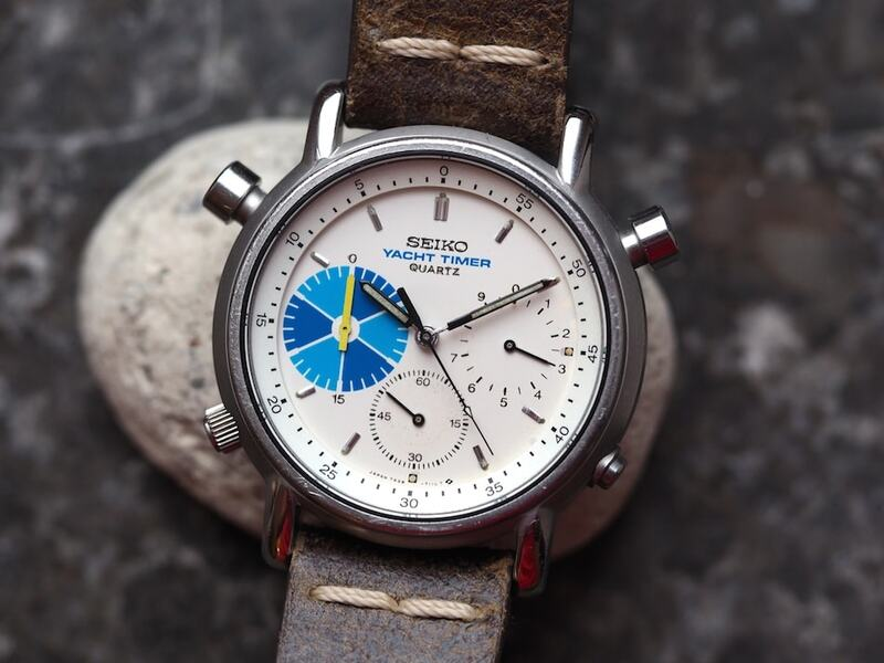 #TBT The Elusive Seiko 7A28-7090 Yacht Timer Chronograph