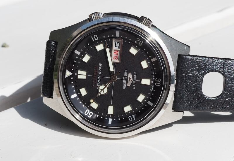 #TBT With the 1968 Citizen 2812-Y Seven Star Diver